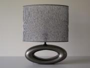 Grey OYE bedroom lamp