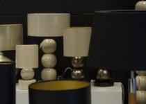 Tak prezentowały się lampy dekoracyjne na targach Warsaw Home na stoisku A-Z Decor